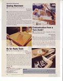 American Woodworker 第86期第5张图片
