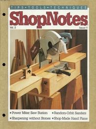 Shopnotes 第11期