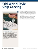 Chip Carving Expert Techniques and 50 All-Time Favorite Projects第18张图片