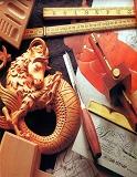 Rez'ba po derevu木雕。实用手册 2004第11张图片