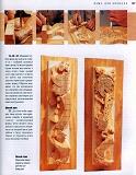 Rez'ba po derevu木雕。实用手册 2004第146张图片