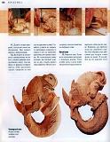 Rez'ba po derevu木雕。实用手册 2004第155张图片
