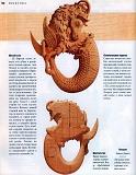 Rez'ba po derevu木雕。实用手册 2004第157张图片